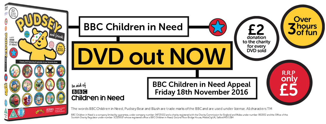 Children In Need DVD Pudsey